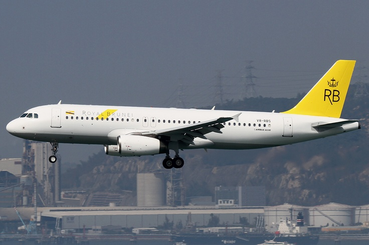 Royal Brunei Airlines  This is a new paint job for 2013.