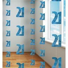 creative 21st birthday decorations turquoise - Google Search
