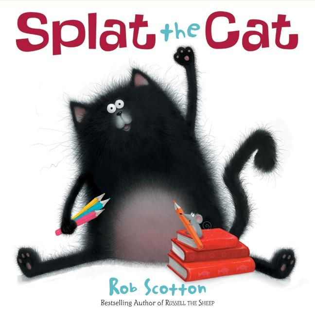 Splat the cat attends his first day of school!