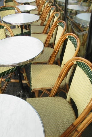 Hemmingway cafe and others Aux deux magots terrace