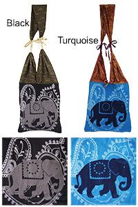 Electric Elephant Shoulder Bag at The Animal Rescue Site