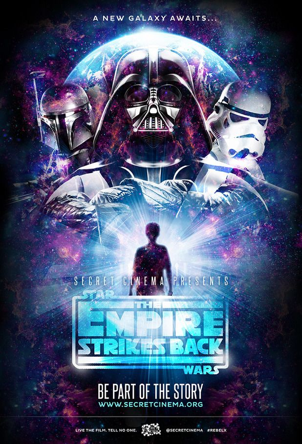 Star Wars Secret Cinema - going to this in London on Wednesday. Can't wait!