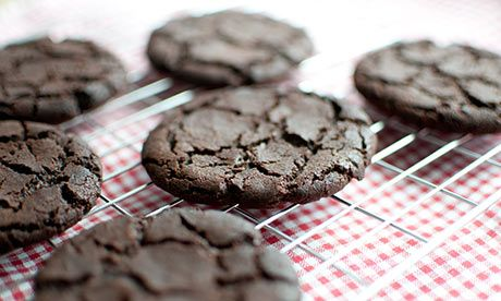 Roasting your cocoa brings out the dark side of your chocolate cookies. Photography by Tricia de Courcy Ling for the Guardian