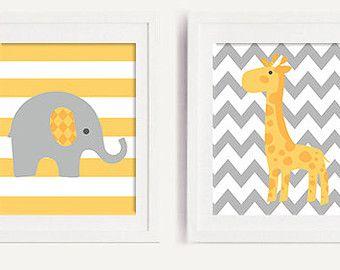 Kinderbilder fürs kinderzimmer giraffe  Die besten 25+ Baby Mädchen Elefant Ideen auf Pinterest ...