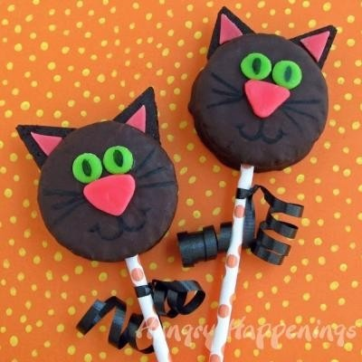 Cat pops - why not, right? Good for a Gift Bag #CatsSayCheese
