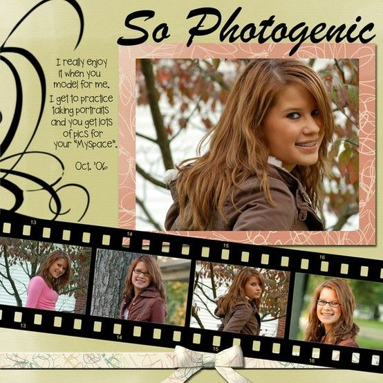 great idea for a young lady's photo shoot