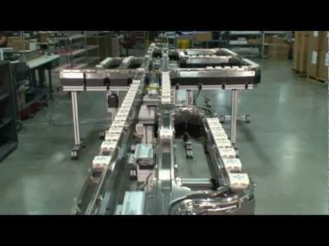 Not moving passengers and 1:1 scale but...  MagneMotion's MagneMover LITE Intelligent Conveyor System