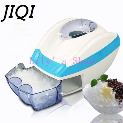 ==> [Free Shipping] Buy Best Stainless Steel electric ice shavers Crusher chopper ice slush maker icecream snow cone ice block breaking machine EU US plug Online with LOWEST Price | 32631562031