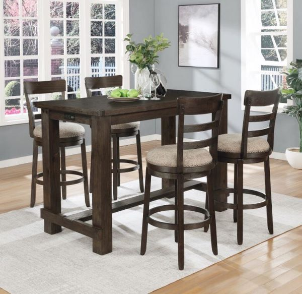Brand New Table For Sale In Jacksonville Nc Offerup In 2020 Solid Wood Dining Set Counter Height Dining Sets Wood Counter