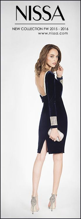 #nissa #new #collection #evening #dress #velvet #blue #backless #fashion #fashionista #diva #look #style #stylish #fw2015 #glam
