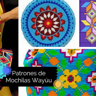 Galería y Patrones: Bases y Cuerpos de Mochilas Wayuu