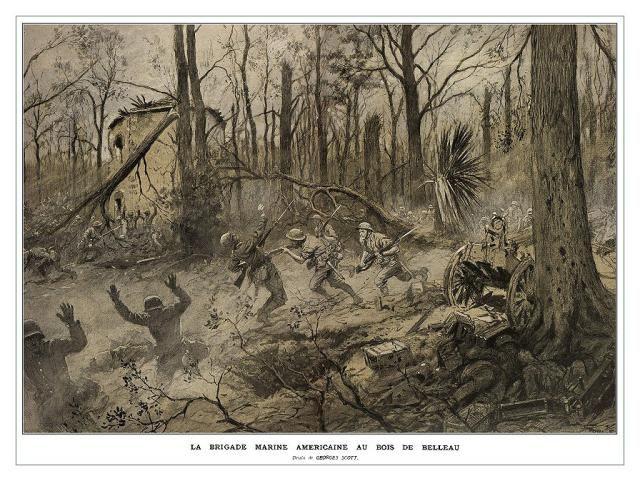 Becoming Devil Dogs: Battle of Belleau Wood