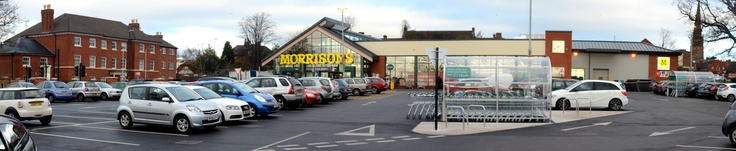 Morrisons Supermarket by Thomas Vale/O'Brien.    O'Brien Group is a specialist civil engineering firm offering clients  expertise across a full range of sectors coupled with a flexible  approach.  www.obriencontractors.co.uk