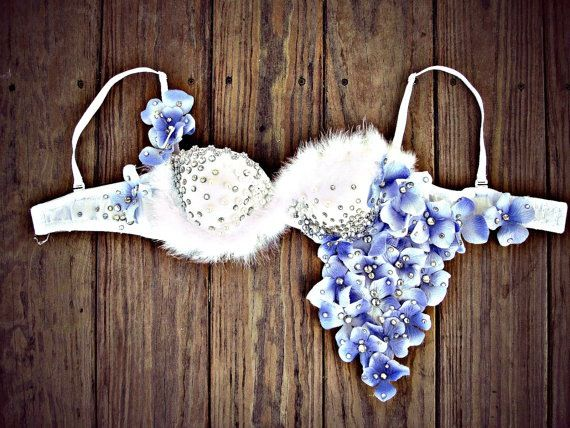 Rave Bra / Flower Bra