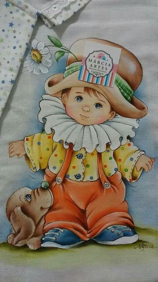 Pinturas de bebê