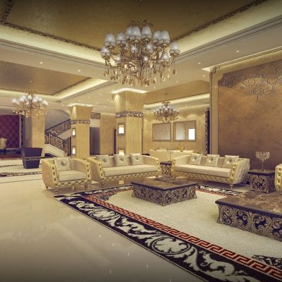 8 best images about classical living room designs on for Living room ideas dubai