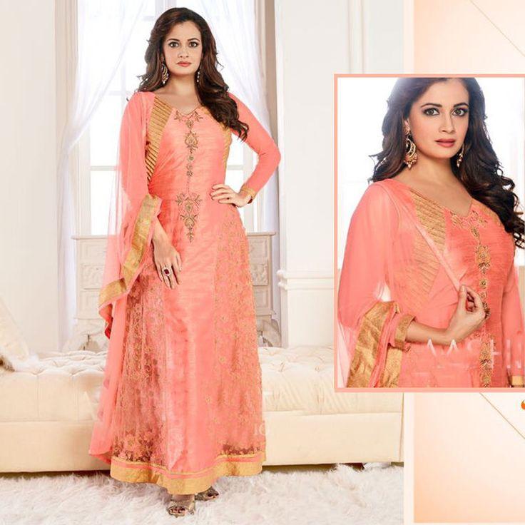 Pakistani Designer Salwar kameez Bollywood Indian Anarkali Embroidery Party Suit #Shoppingover #SalwarKameez