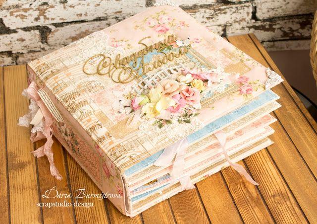Волшебство на кончиках пальцев: Свадебный альбом из Graphic45