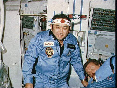 Ellison Onizuka Photo 4 - STS 51-L. Image Credit: NASA