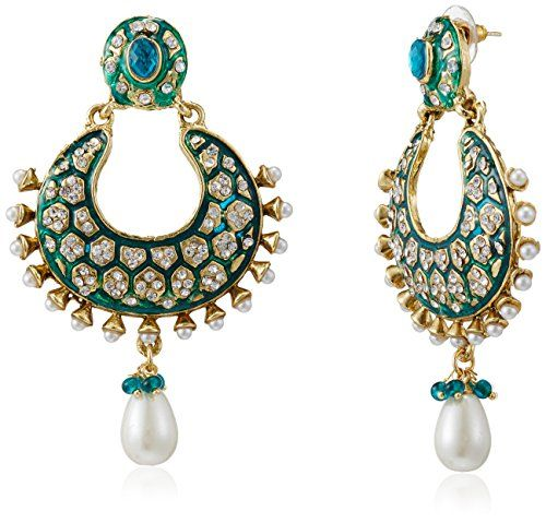 These gorgeous earrings lend an ethnic touch to your attire