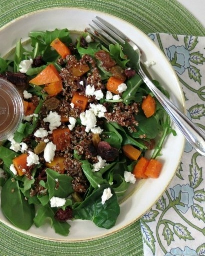 Honey-Roasted Butternut Squash And Blue Cheese Salad Recipes ...