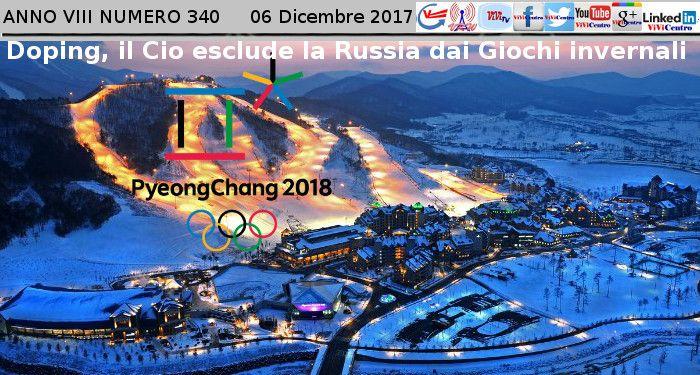 Doping, il Cio esclude la Russia dai Giochi invernali