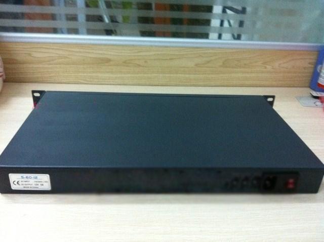 NEW Sea spider firewall 1u industrial computer case d525 low power 6 ethernet port full kilomega
