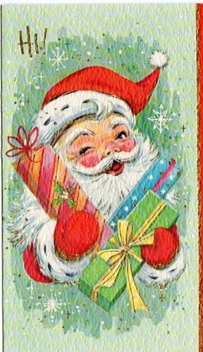 Best 888 Vintage Christmas Cards images on Pinterest | Other