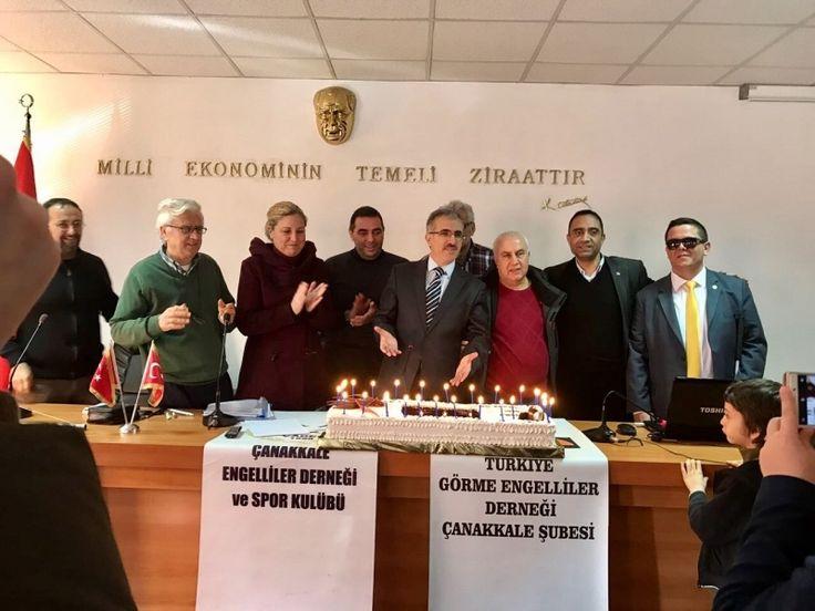 Türkiye Görme Engelliler Derneği Çanakkale Şubesi 14. Olağan genel kurul toplantısı 21 Ocak cumartesi günü Tarım İl Müdürlüğü Toplantı Salonunda yapıldı