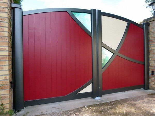 19 Stunning modern gate design ideas | Front gate design, Gate ...