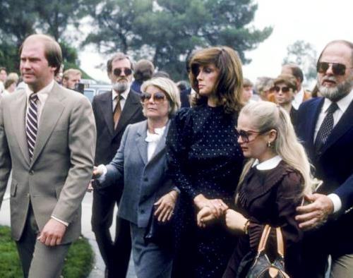 Dallas Cast Attend The Memorial For Jim Davis Jock In