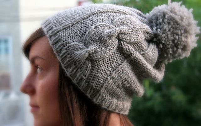 Ravelry: FallingStitches' 62. Pom-Pom Hat