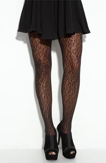Spanx meets animal print...fun alternative to black tights in Fall/Winter