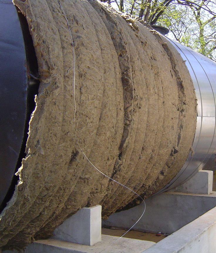 Isolamento termico de tanque