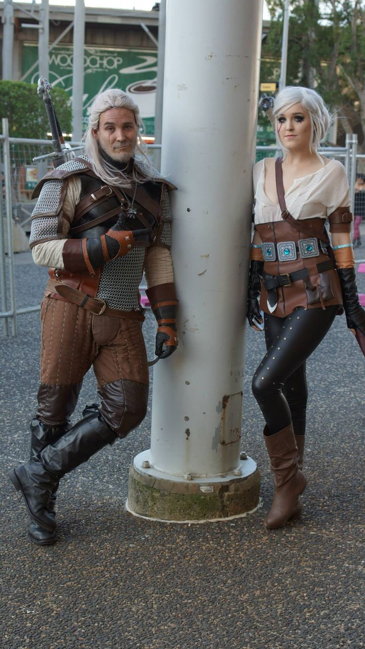 Witcher 3 cosplays by Lucid in Rapture cosplay and Sparta cos on Facebook