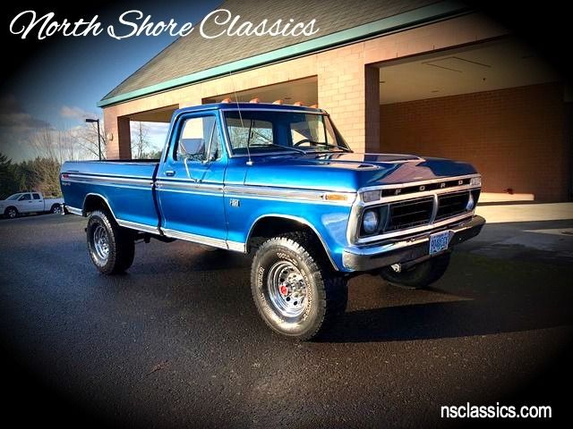 Used 1975 Ford F250 - FACTORY- HI-BOY- 4X4 -RANGER XLT- PICK UP TRUCK | Mundelein, IL