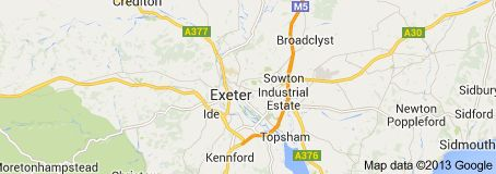 Exeter / town in England / Exeter is the county town of Devon in southwest England, and was once the capital of Cornwall. 2010, the city had 119,600 inhabitants. Wikipedi