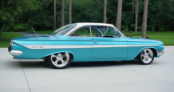 1961 Impala Bubble Top - this is on my dream car list. I WILL own a bubble top one of these days
