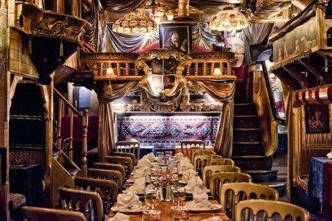 Eating in London - Unique restaurants