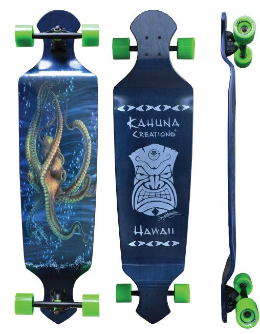 "NEW!! Drop Deck 43"" Longboard Complete - Seeker from Kahuna Creations"