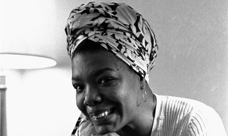 "On the death of Maya Angelou -In the tradition of Zora Neale Hurston, who once remarked, ""I am not tragically colored. There is no great sorrow dammed up in my soul."""