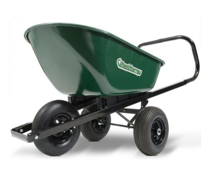 Poly Wheelbarrow Cart Garden Transport Trolley Outdoor Yard Gift 2 Wheeled  Wagon | Yards, Gardens And Gift