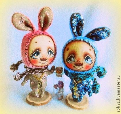 Оберегая свое ЧУВСТВО... - кукла,зайка,авторская игрушка,разные