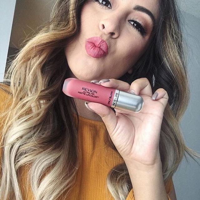 @arlynesanjines newest obsession? Revlon Ultra HD Matte Lipcolor in Kisses. Double tap if you've tried it! # #regram #ad