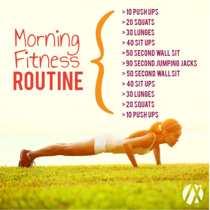 Morning fitness routine to say goodbye to the week and welcome the weekend! You don't need a gym to do any of these, so no excuses! Even a short workout on the days you are tired or busy will accelerate your metabolism and help you burn more calories. This routine targets arms, legs, and core. By increasing blood-flow, workouts are a great way to un-bloat. It might just be inflammation and water-retention, both of which are aided by exercise.