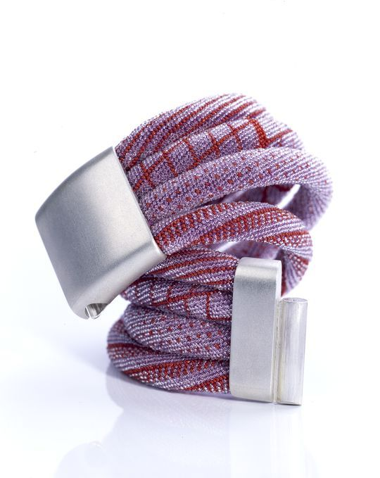 4-Strand Bead Crochet Bracelet by Jacqueline Lillie