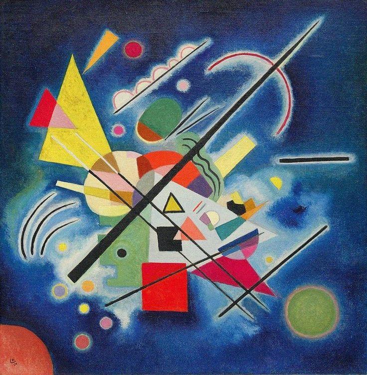 Wassily Kandinsky - Blue Painting, 1924