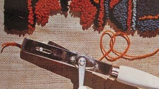 rug hooking - YouTube