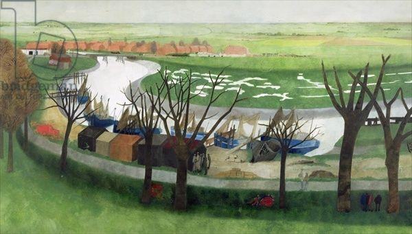 Low Tide Near Rye (c.1963) by Edward Burra