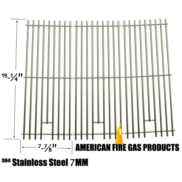 3 PACK HEAVY DUTY REPLACEMENT STAINLESS STEEL COOKING GRATES FOR CAPTN COOK, SAMS 720-0584A, MEMBERS MARK 720-0584A AND MEMBERS MARK 720-0584A GAS GRILL MODELS  Fits Captn Cook Models:  XG4CKWNA  BUY NOW @ http://grillpartsgallery.com/shopexd.asp?id=33963&sid=18754